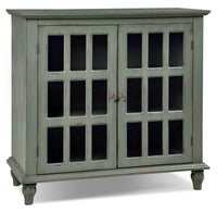 Bray Accent Cabinet - Antique Blue