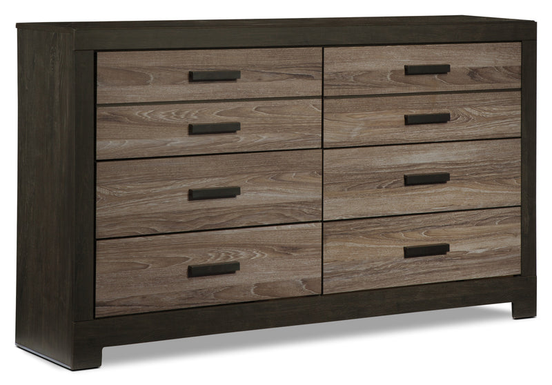 Harlinton Dresser - Rustic style Dresser in Two-Toned