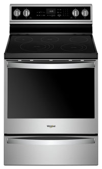 Whirlpool® 6.4 Cu. Ft. Electric Freestanding Range with 5 Elements - YWFE975H0HZ