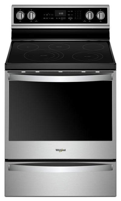 Whirlpool 6.4 Cu. Ft. Electric Freestanding Range with 5 Elements - YWFE975H0HZ|Cuisinière électrique non encastrée, Whirlpool, 5 éléments 6,4 pi3 - YWFE975H0HZ|YWFE975Z