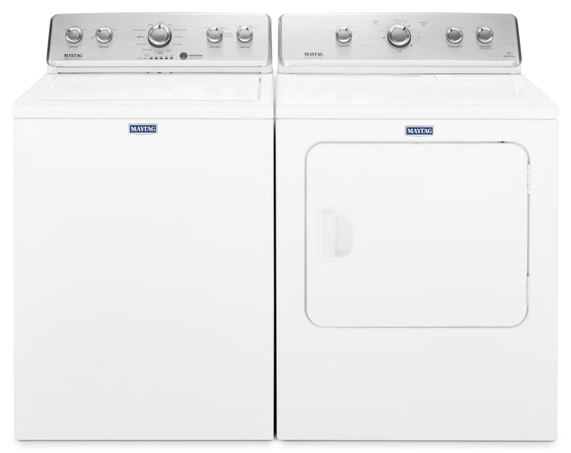Maytag 4.4 Cu. Ft. Top-Load Washer and 7.0 Cu. Ft. Electric Dryer – White