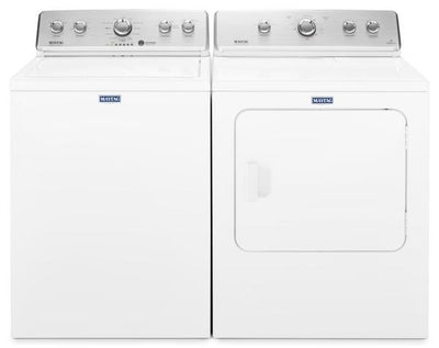 Maytag 4.4 Cu. Ft. Top-Load Washer and 7.0 Cu. Ft. Gas Dryer – White