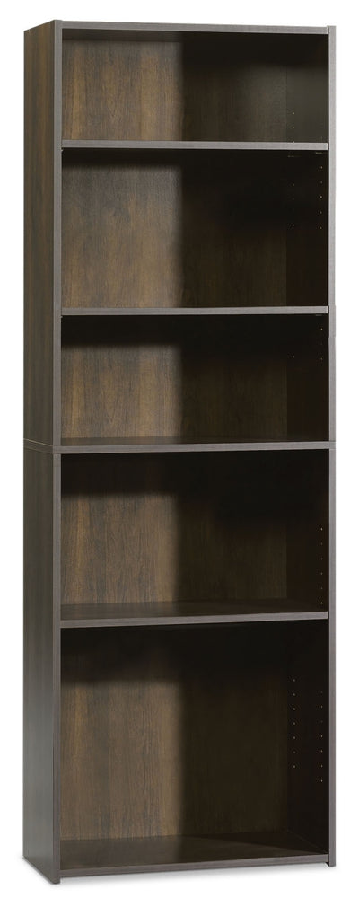 Boston 5-Shelf Bookcase - Country style Bookcase in Dark Brown