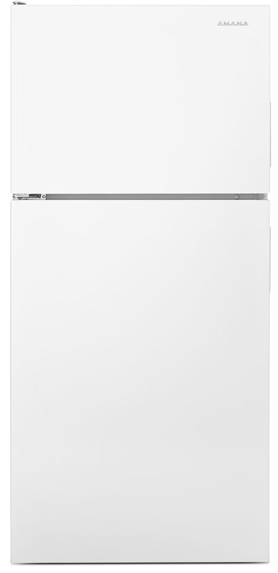 Amana 16 Cu. Ft. Top-Freezer Refrigerator – ART316TFDW - Refrigerator in White