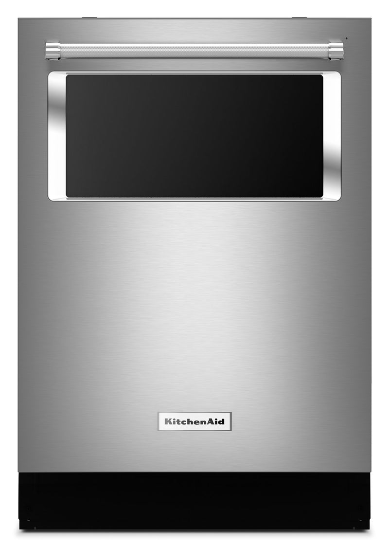 KitchenAid Built-In Dishwasher with Window – KDTM384ESS|Lave-vaisselle encastré avec hublot KitchenAid - KDTM384ESS