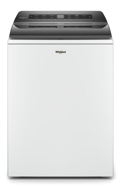 Whirlpool 5.4 Cu. Ft. Top-Load Washer with Pre-Treat Station - WTW5105HW - Washer in White
