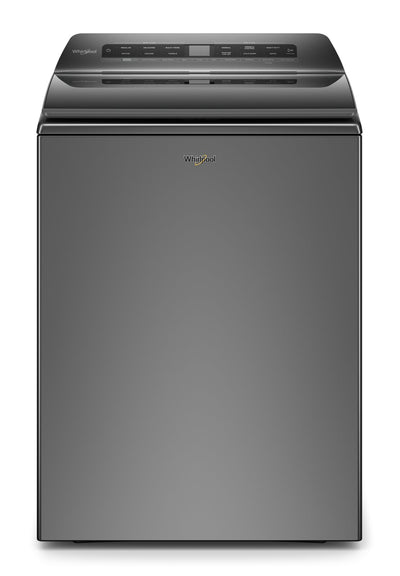 Whirlpool 5.5 Cu. Ft. Smart Top-Load Washer - WTW6120HC - Washer in Chrome Shadow