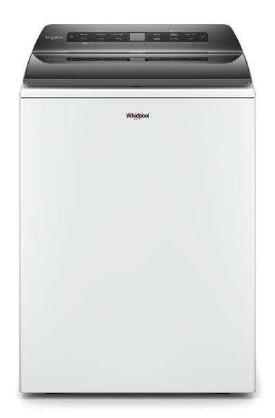 Whirlpool 5.5 Cu. Ft. Smart Top-Load Washer - WTW6120HW|Laveuse intelligente Whirlpool à chargement par le haut de 5,5 pi3 - WTW6120HW|WTW6120W
