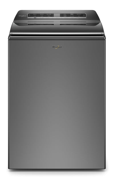 Whirlpool 6.1 Cu. Ft. Smart Top-Load Washer - WTW7120HC|Laveuse intelligente Whirlpool à chargement par le haut de 6,1 pi3 - WTW7120HC|WTW7120C