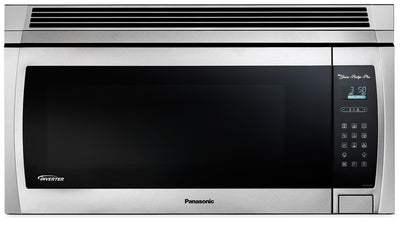 Panasonic® 2.0 Cu. Ft. Genius® Prestige® Plus Over-the-Range Microwave Oven - Stainless Steel|Four à micro-ondes à hotte intégrée Genius(MD) Prestige Plus de 2.0 pi³ de Panasonic|NNSE284S