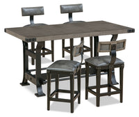 Ironworks 5-Piece Counter-Height Dining Package