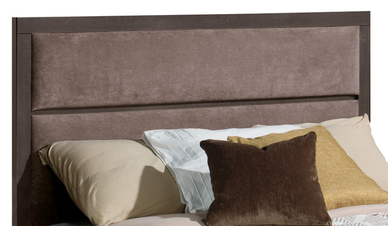 Willowdale Queen Headboard - Contemporary style Headboard in Grey Engineered Wood and Laminate Veneers