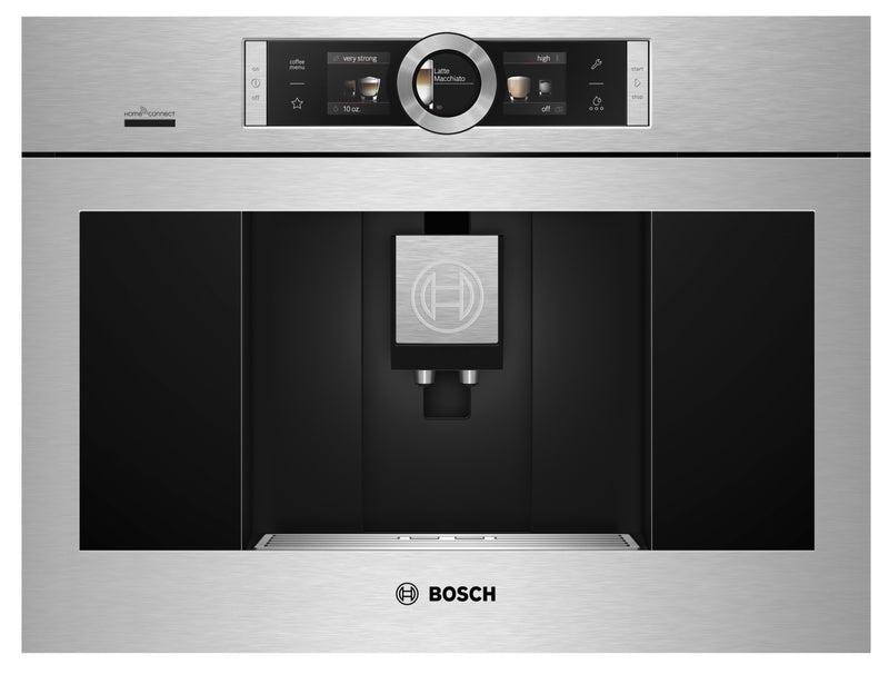 Bosch Automatic Built-In Coffee Machine – BCM8450UC|Cafetière encastrable entièrement automatique Bosch - BCM8450UC|BCM8450U