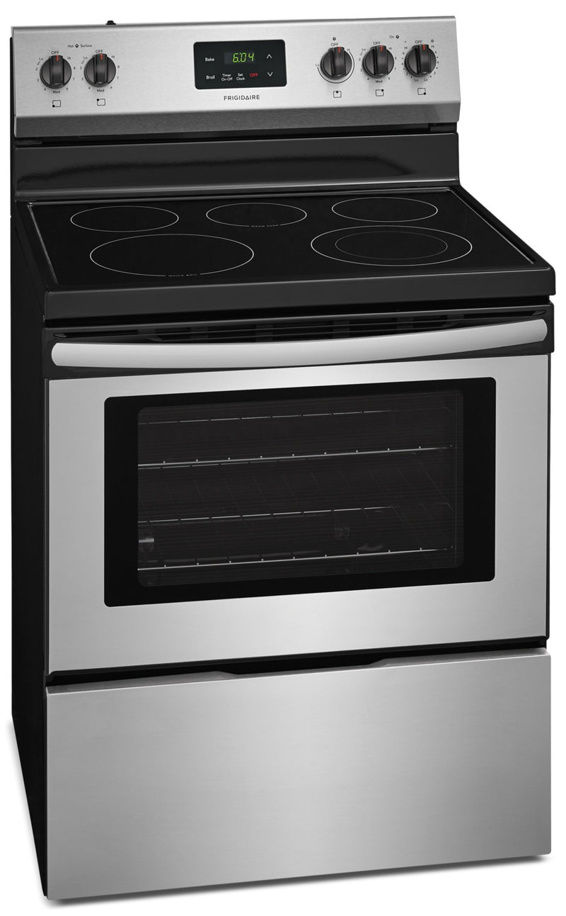 Frigidaire 4 9 Cu Ft Electric Range Cfef3052ts The Brick
