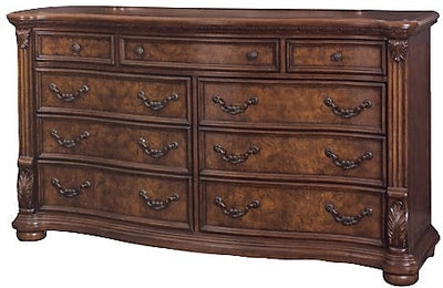 Morocco Dresser - Traditional style Dresser in Heritage Brown