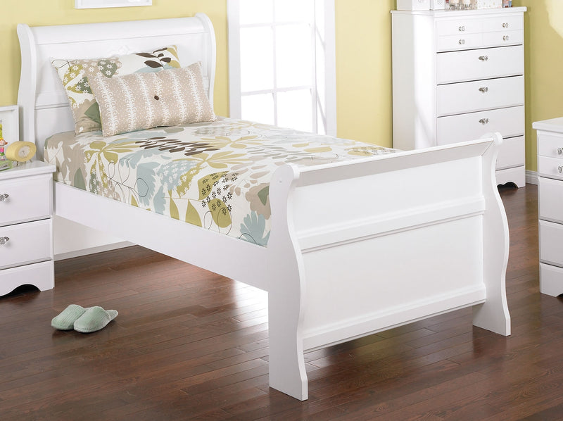 Diamond Dreams Twin Sleigh Bed The Brick