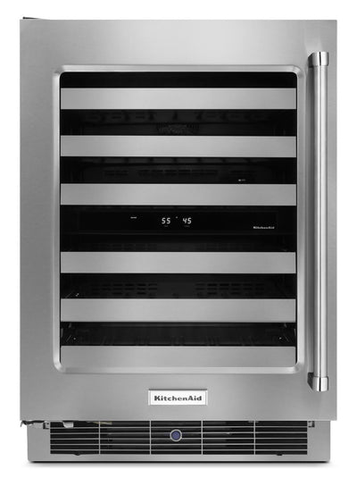 KitchenAid Wine Cellar with Right-Door Swing – KUWL304ESS - Refrigerator in Stainless Steel
