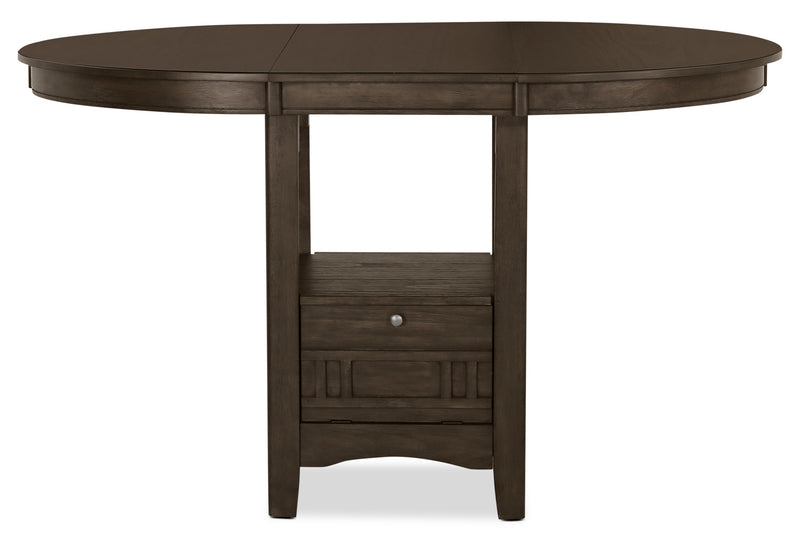 Desi Counter Height Dining Table Brown The Brick