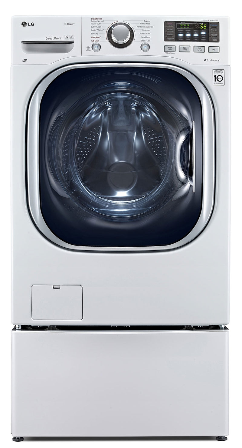 LG Ventless Front-Load Washer / Dryer Combo – WM3997HWA|Appareil 2 en 1 laveuse à chargement frontal et sécheuse sans évacuation d'air de LG – WM3997HWA