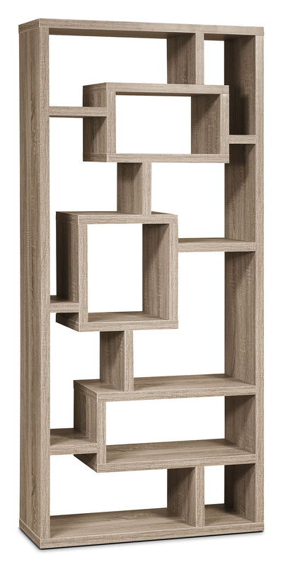 Florence Bookcase – Grey - Modern style Bookcase in Grey