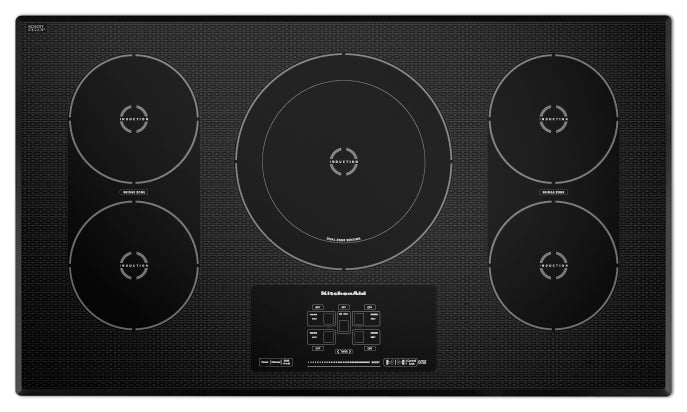 KitchenAid 36'' Electric Induction Cooktop – KICU569XBL - Electric Cooktop in Black