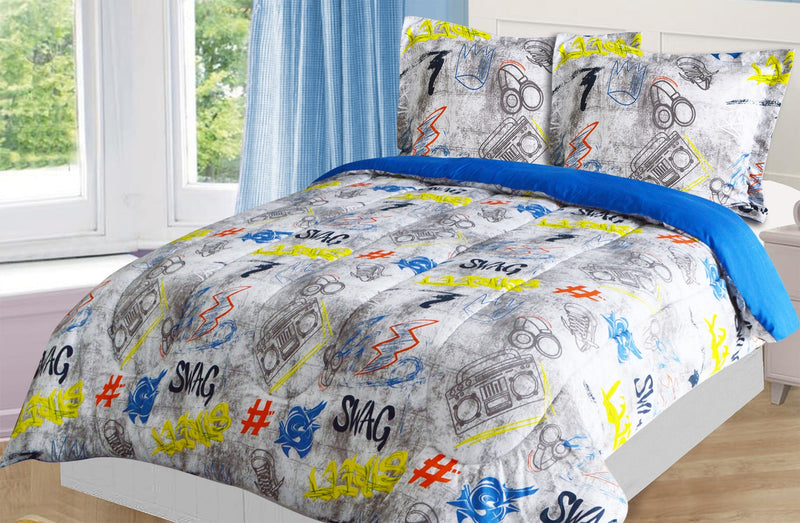 Swag 2-Piece Twin Comforter Set|Ensemble d'édredon Swag 2 pièces pour lit simple|SWAGG2TW