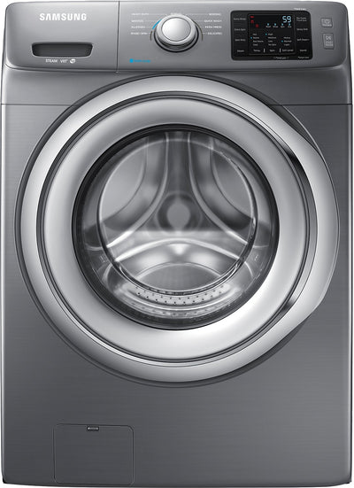 Samsung 4.8 Cu. Ft. Front-Load Washer - Platinum - Washer in Grey