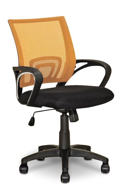 Loft Mesh Office Chair – Orange - Modern style Office Chair in Orange