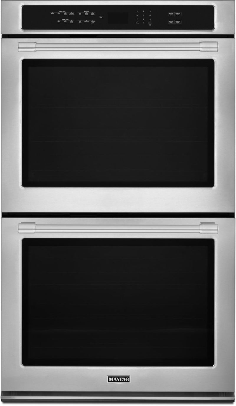 Maytag 10.0 Cu. Ft. Double Wall Oven – MEW9630FZ|Four mural double 10 pi3 Maytag – MEW9630FZ