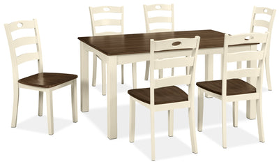 Woodanville 7-Piece Dining Package