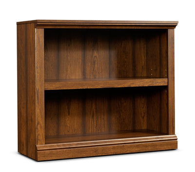 Florida Bookcase with Two Shelves – Washington Cherry - Rustic style Bookcase in Light Brown