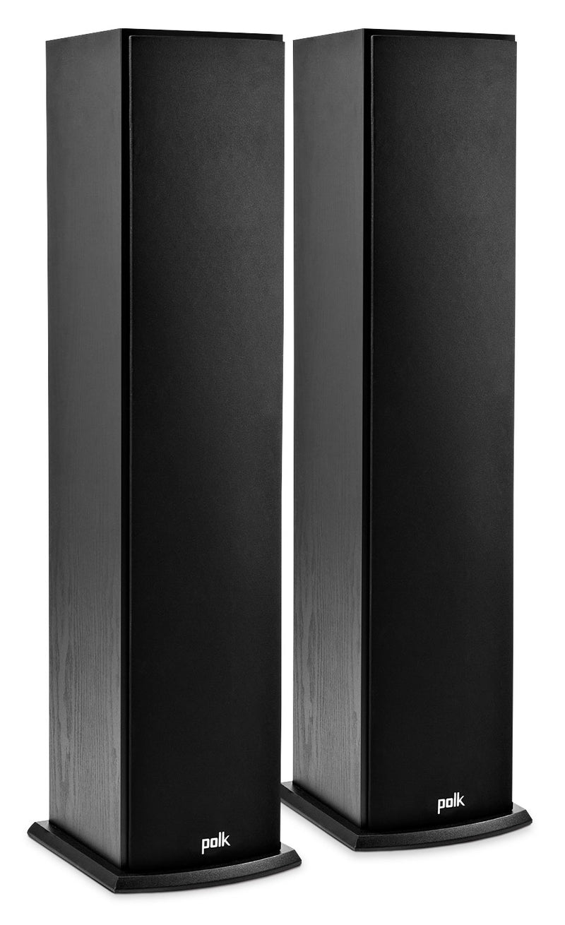 "Polk Audio 37"" T50 Floor Standing Tower Speakers, Set of 2