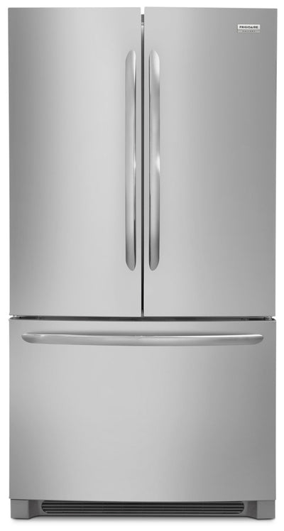 Frigidaire Gallery 22.4 Cu. Ft. Counter-Depth French-Door Refrigerator – FGHG2368TF - Refrigerator in Stainless Steel
