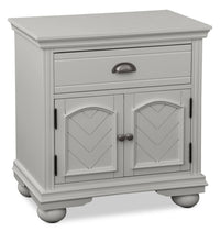 Brooke Nightstand – Grey
