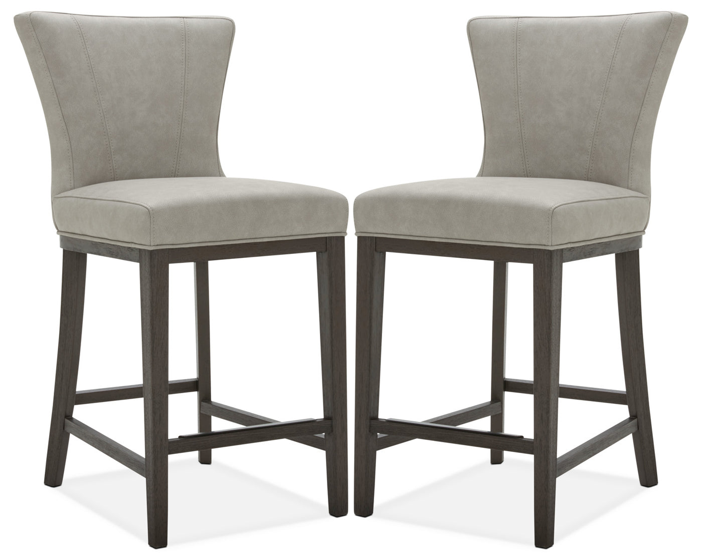 newest 881f8 2f510 Quinn Counter-Height Stool, Set of 2 – Taupe