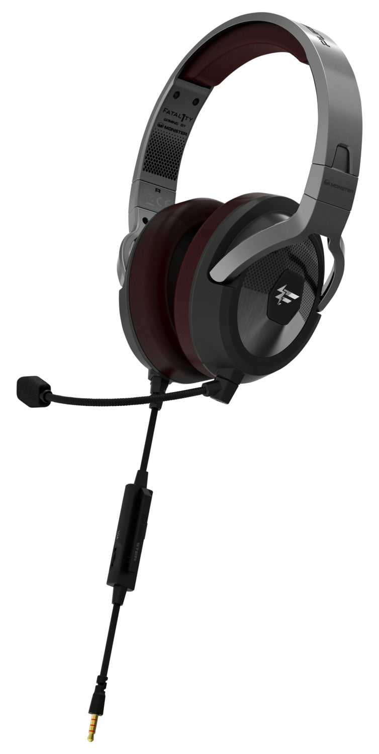 Monster Fatal1ty® FXM 200 Gaming Over-Ear Headset - 137049-00|Casque de jeu Fatal1tyMD FXM 200 de Monster - 137049-00