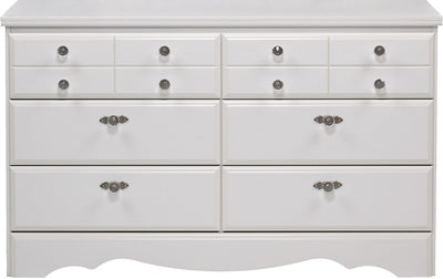Diamond Dreams 6-Drawer Dresser|Commode à 6 tiroirs Diamond Dreams|422-861
