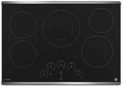 "GE Profile 30"" Electric Cooktop – PP9030SJSS - Electric Cooktop in Stainless Steel"