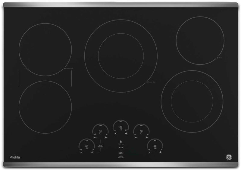"GE Profile 30"" Electric Cooktop – PP9030SJSS
