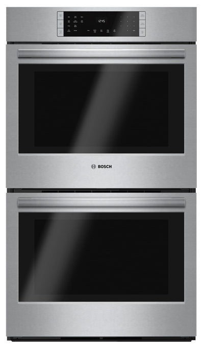 "Bosch 30"" 9.2 Cu. Ft. 800 Series Double Wall Oven – HBL8651UC"