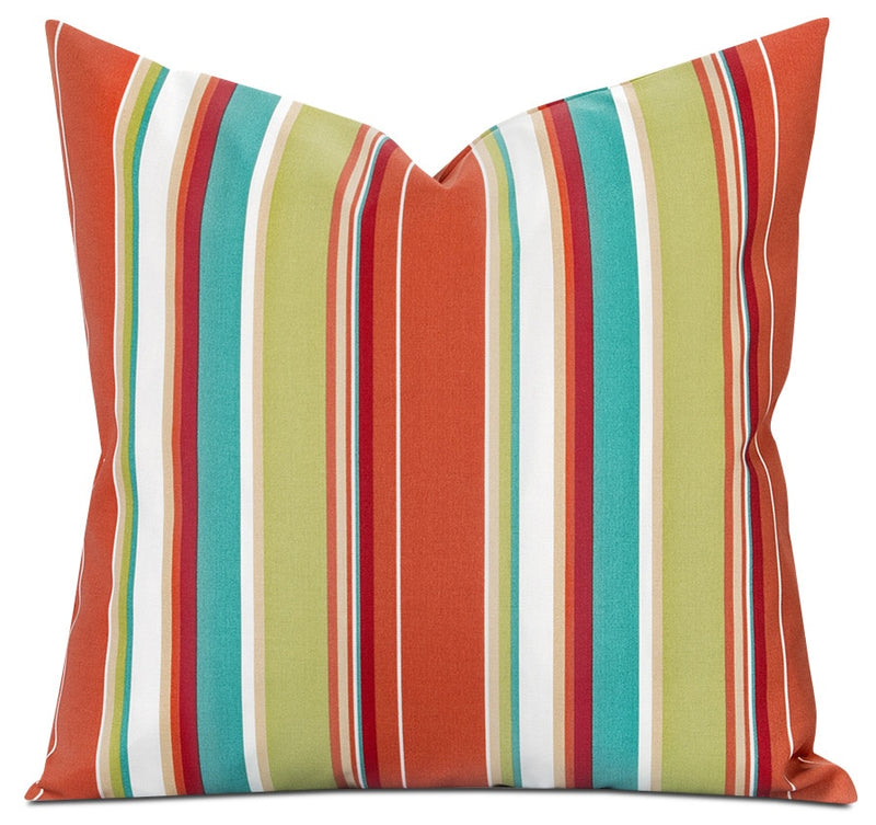 Houston Stripe Outdoor Accent Pillow|Coussin décoratif Houston rayé pour l'extérieur