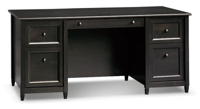 Edge Water Executive Desk - Estate Black|Bureau président Edge Water - noir Estate|EDG65DSK