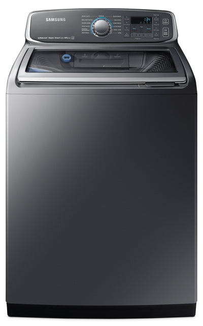 Samsung 6.0 Cu. Ft. Top-Load Washer – WA52M7755AP/A4 - Washer in Grey