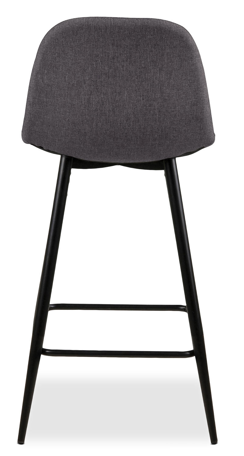 Wilma Counter Height Chair Grey The Brick
