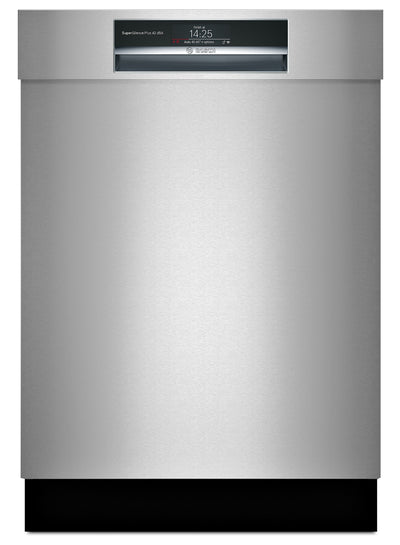 Bosch Recessed Handle Built-In Dishwasher – SHEM78WH5N - Dishwasher in Stainless Steel