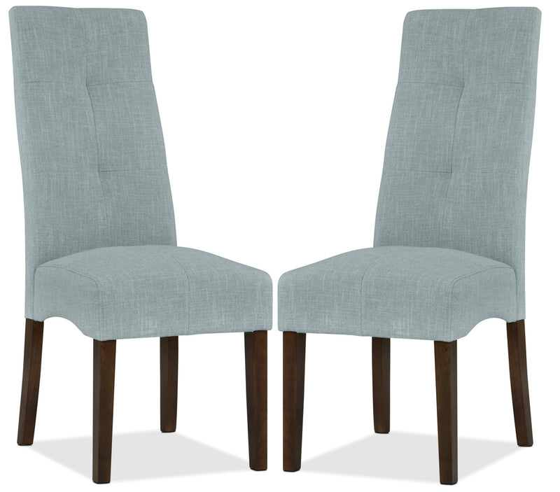 Sadie Dining Chair, Set of 2 - Light Blue|Chaise de salle à manger Sadie, ensemble de 2 - bleu pâle