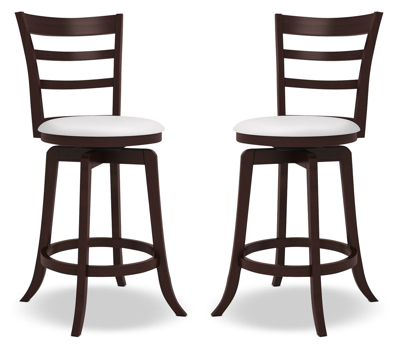 Picture of: Woodgrove 38 Barstool Set Of 2 Slatted Back The Brick