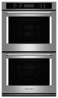 "KitchenAid 30"" Double Wall Oven – Stainless Steel