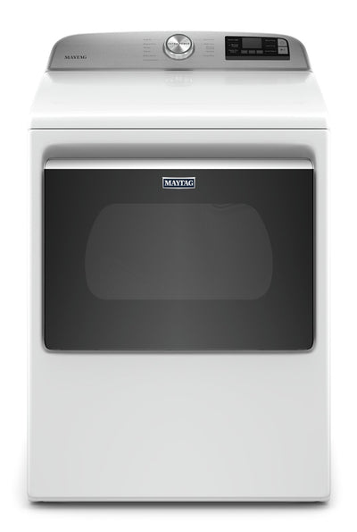 Maytag 7.4 Cu. Ft. Smart Front-Load Electric Dryer - YMED6230HW - Dryer in White