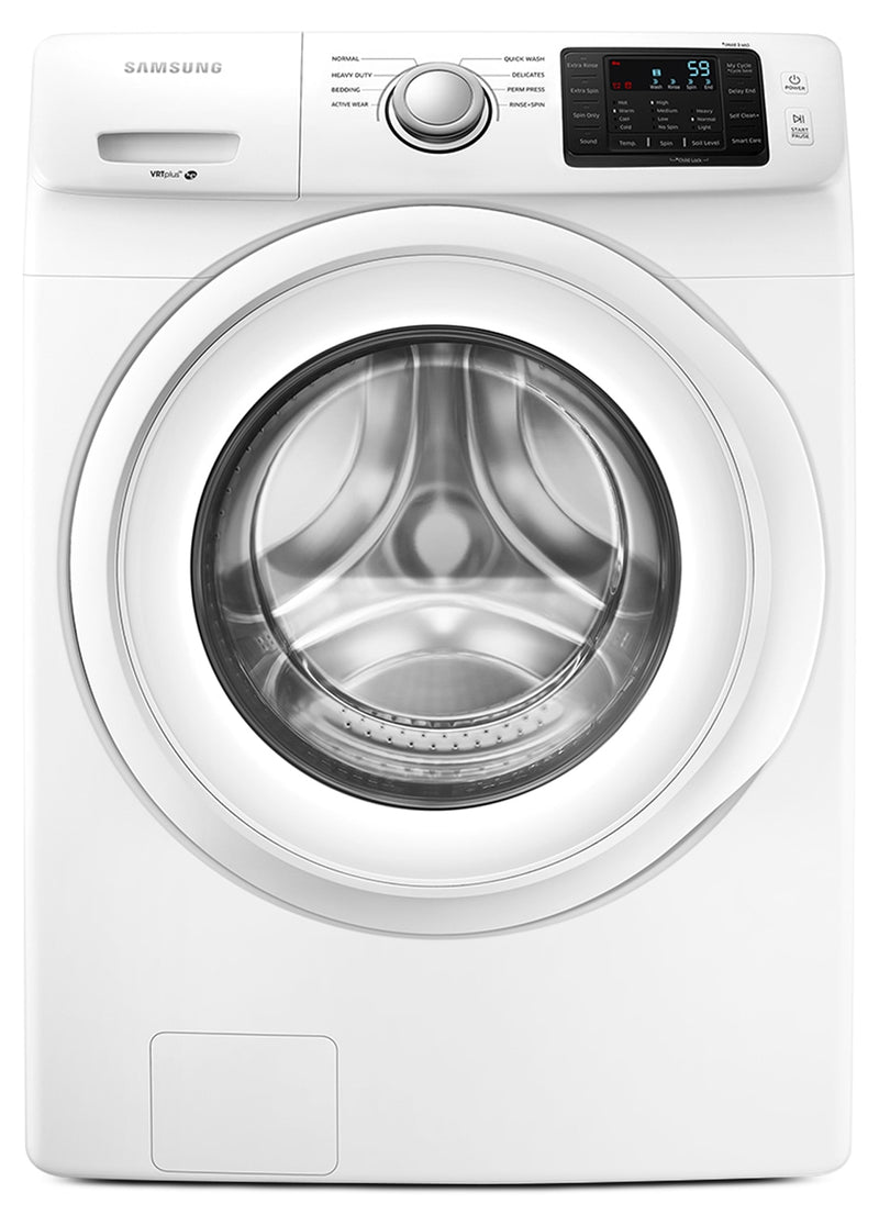 Samsung 5.2 Cu. Ft. Front-Load Washer – WF45M5100AW/A5|Laveuse Samsung à chargement frontal de 5,2 pi3 – WF45M5100AW/A5